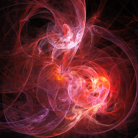 dark nebula: Spiral Nebula. Billowing smoke. Particles of paint in the water. Abstract. Fractal illustration. Space. Dark background.