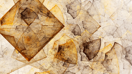 16 9: Coloured patterns on a white background. Abstract illustration. Format 16: 9 for widescreen monitors. Fractal Wallpaper on your desktop. Stock Photo