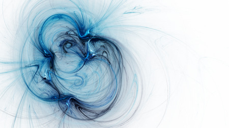 billowing: Spiral Nebula. Billowing smoke. Particles of paint in the water. Space. Format 16: 9 for widescreen monitors. Fractal Wallpaper on your desktop. Stock Photo