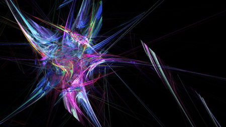 16 9: Abstract illustration. Format 16: 9 for widescreen monitors. Fractal Wallpaper on your desktop.