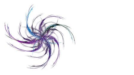 16 9: Abstract illustration. Format 16: 9 for widescreen monitors. Fractal Wallpaper on your desktop. Digital artwork for creative graphic design.