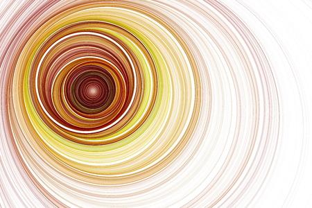 twisted: Abstract fractal image. Fractal Wallpaper on your desktop. Digital artwork for creative graphic design. Stock Photo