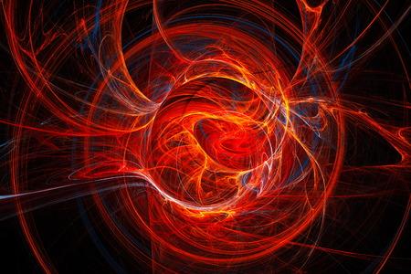 Abstract fractal image. Fractal Wallpaper on your desktop. Digital artwork for creative graphic design. Standard-Bild
