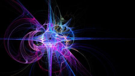 lucero: Estrella brillante. Imagen abstracta Foto de archivo