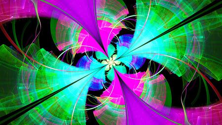 enchanting: Enchanting colorful pattern