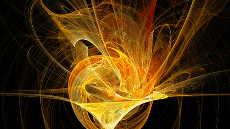 artwork: Abstract. Fractal Wallpaper on your desktop. Widescreen. Digital artwork for creative graphic design. Stock Photo