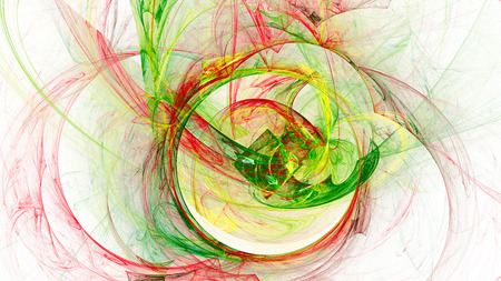 16 9: Colored smoke. Spiral Nebula space. Abstract image. Fractal Wallpaper on your desktop. Digital artwork for creative graphic design. Format 16: 9 widescreen monitors.
