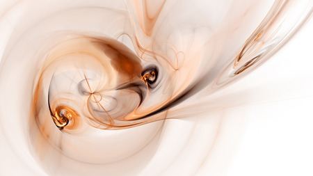 9 ball: Multicolored glowing ball of smoke. Abstract image. Fractal Wallpaper on your desktop. Digital artwork for creative graphic design. Format 16: 9 widescreen monitors.