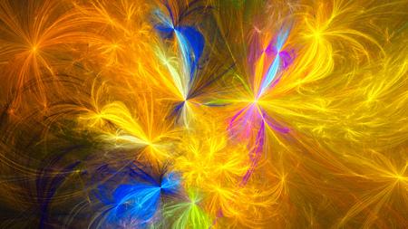 fireworks show: Fireworks. Christmas Spectacular show. Bright lumiere. Abstract image. Fractal Wallpaper desktop. Digital artwork creative graphic design. Format 16: 9 widescreen monitors.