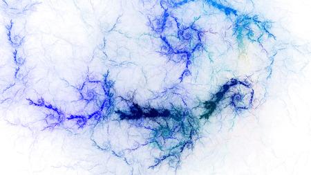 stormy sky: Stormy sky. Sparkling fierce lightning, fiery lava. Abstract image. Fractal Wallpaper desktop. Digital artwork creative graphic design. Format 16: 9 widescreen monitors. Stock Photo