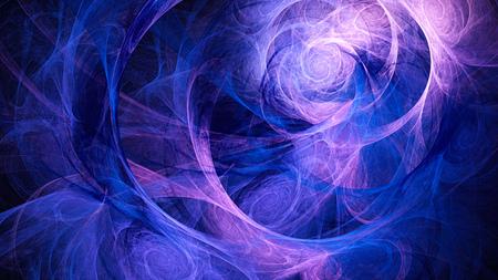 16 9: Spiral space. Storm sky. Atmosphere distant planet. Abstract image. Fractal Wallpaper desktop. Digital artwork creative graphic design. Format 16: 9 widescreen monitors. Stock Photo