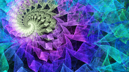 Time Spiral Stock Photo