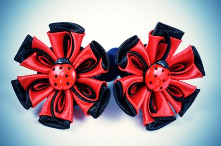 kanzashi: Kanzashi ornaments for womens hair