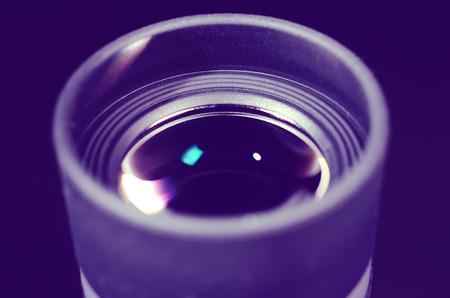an eyepiece: Lens of the eyepiece.