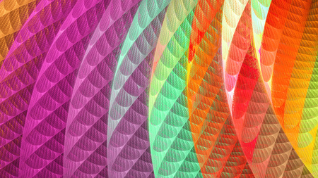 microcosm: Mysterious psychedelic wallpaper.