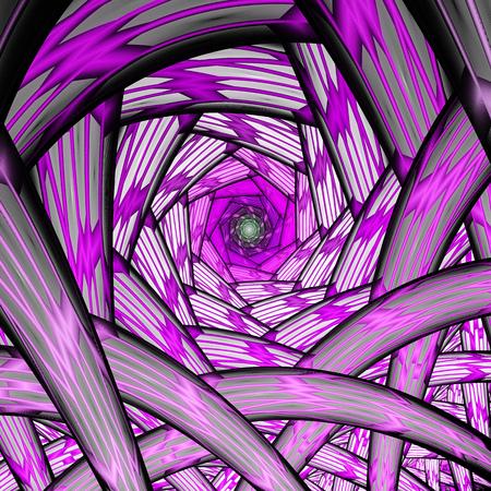 raices de plantas: túnel sin fin. raíces de las plantas. Foto de archivo