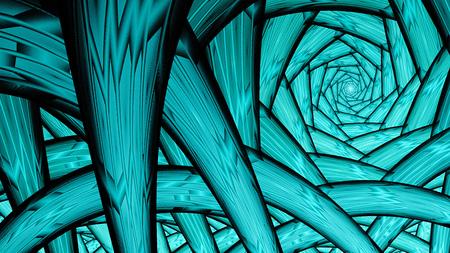raices de plantas: t�nel sin fin. ra�ces de las plantas. Foto de archivo