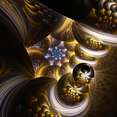 prism: Black hole. Prism time. Stock Photo