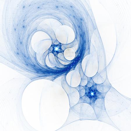 kaleidoscope: Magic Kaleidoscope. Explosion of supernova. Stock Photo