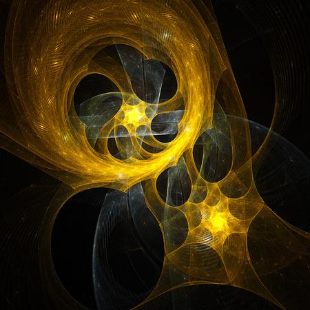 supernova: Magic Kaleidoscope. Explosion of supernova. Stock Photo