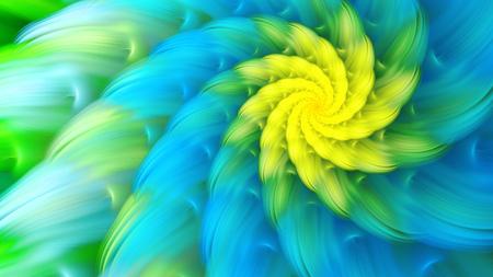 petals: Exotic flower. Dance of flower petals. Stock Photo