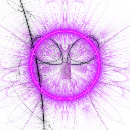 supernova: Sphere with radiating rays. Explosion supernova star.