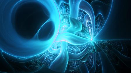 plasma: Shining colored plasma.