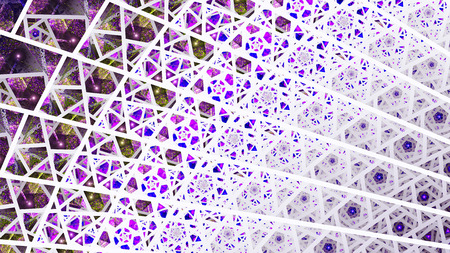shards: Stained glass windows. Colored Glass. Shards. Fragments. 3D surreal illustration. Sacred geometry. Mysterious psychedelic relaxation pattern. Fractal abstract texture. Digital artwork graphic magic