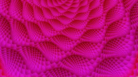 Blitz Muster Auf Schal Schlägt Neon Glühen 3d Surreale Abbildung