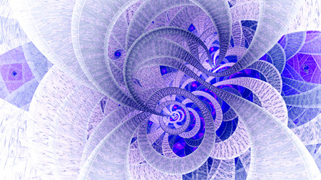 Spiral universe.3d computer generated fractal artwork for creative art, design and entertainment