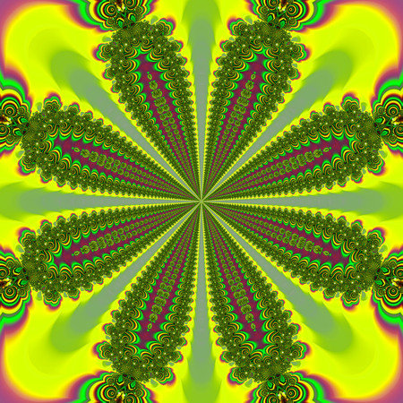 Abstract fractal art background space geometry. Background: Banco de Imagens