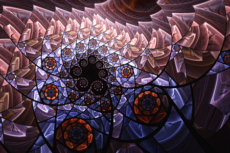 3d abstract computer generated fractal design.Fractal is never-ending pattern.Fractals are infinitely complex patterns that are self-similar across different scales