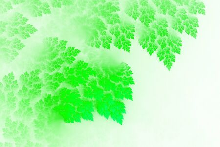 3D Abstract fractal background. Design element for flyer, brochure, web, advertisements, and other graphic designer works. Digital collage. Raster clip art