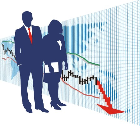 World stock exchange market 1 Stock Vector - 4357018