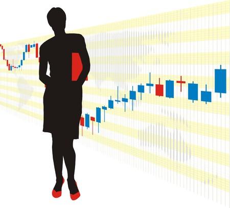 World stock exchange market 2 Stock Vector - 4357011