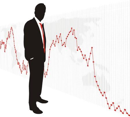 World stock exchange market 5 Illustration