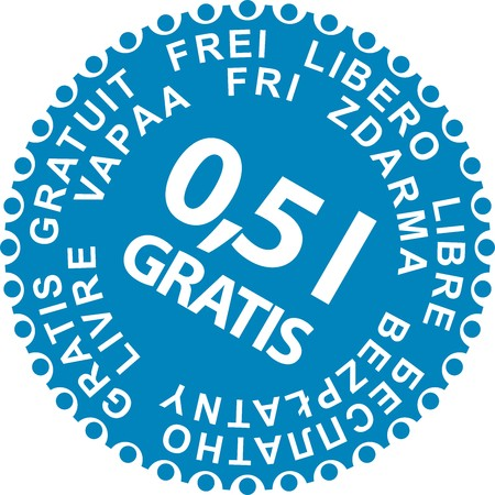 Sale Stickers Gratis Stock Vector - 4462581