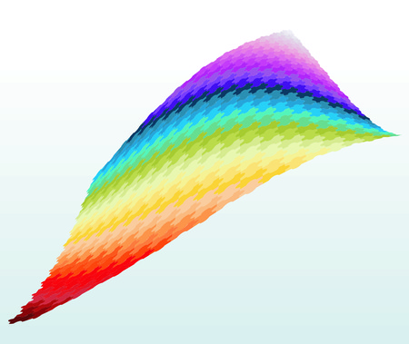 didactic: Rainbow puzzle
