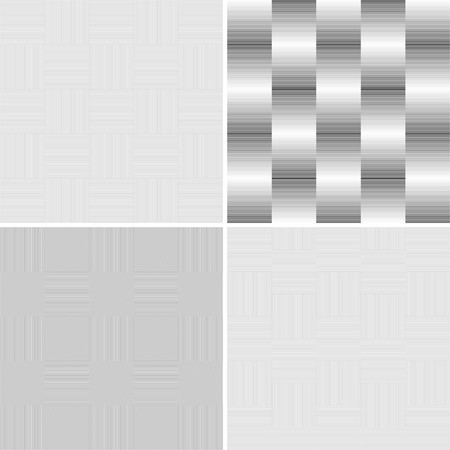 Abstract geometric background, black and white graphics, vector Stock Vector - 5525147