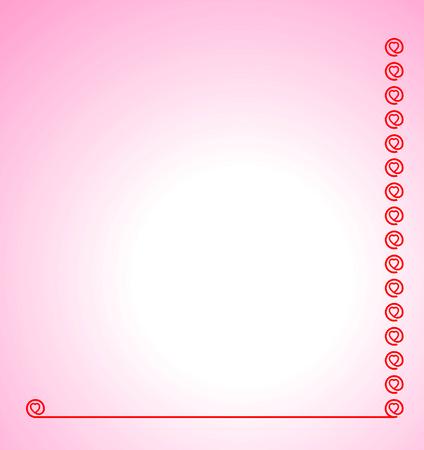 Pink Valentine Greeting Stock Vector - 6269359