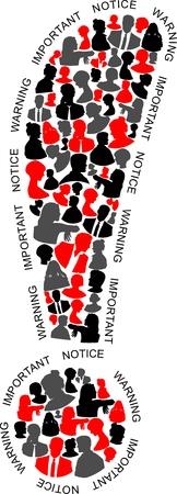 avviso importante: illustrazione importante simbolo di avvertenza Vettoriali