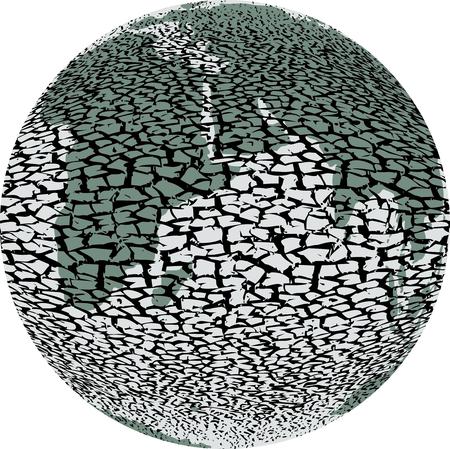Global devastation environment the planet earth