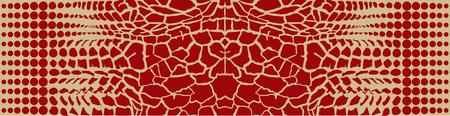 giraffe skin: Abstract giraffe skin Illustration