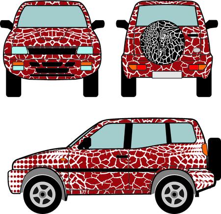 giraffe skin: car s backgrounds giraffe skin passes into abstract
