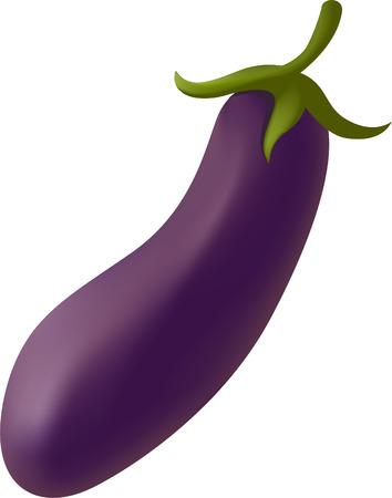 grocer: Eggplant Illustration