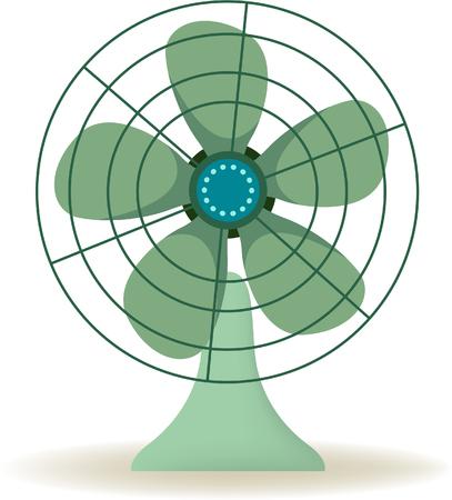 iron fan: Ventilator Illustration
