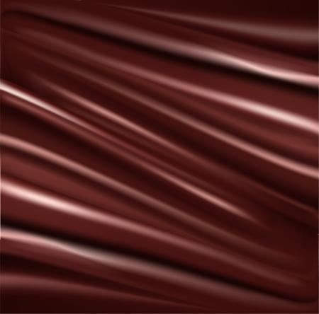 chocolate swirl: Liquid chocolate