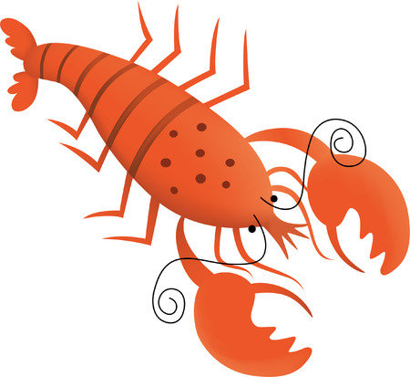 animal leg: lobster