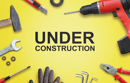 家の修理のためのツールと建設のページ。