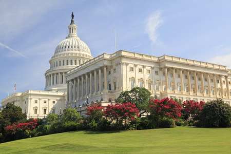 washington state: United States Capitol, Washington DC Stock Photo